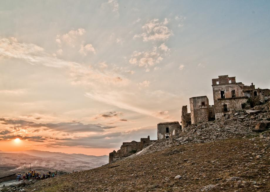 The Abandoned Hilltop Village of Craco