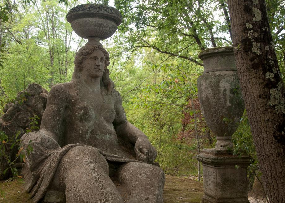 Wander Through the Park of the Monsters in Italy