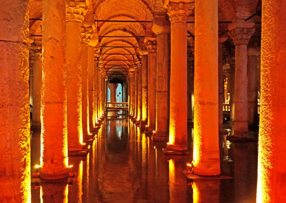Image result for the Basilica Cistern