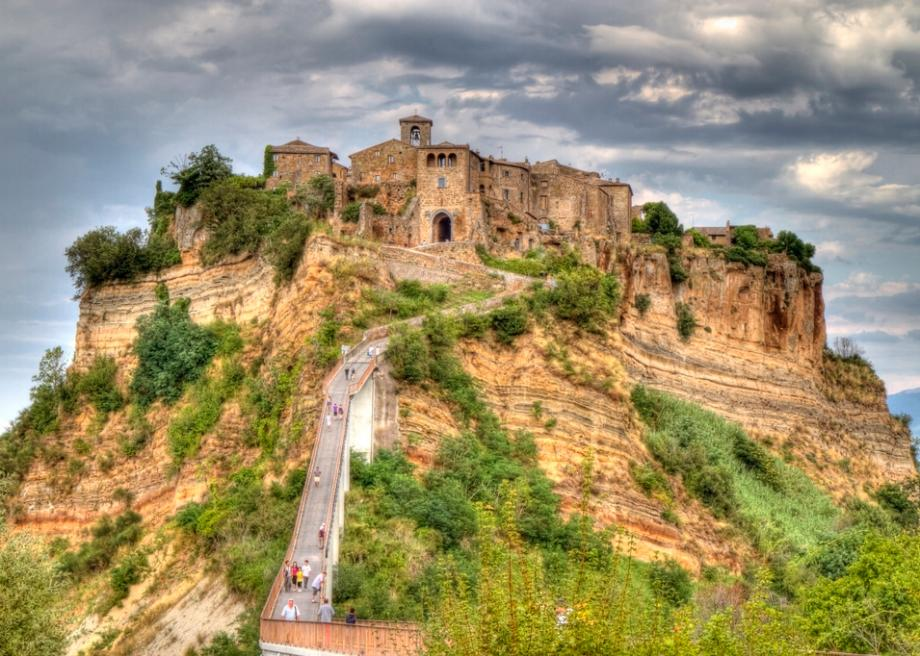 The Small Italian Town of Civita di Bagnoregio Is ...