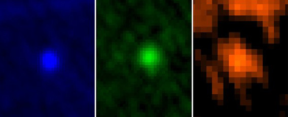 Herschel observatory images of the asteroid Apophis