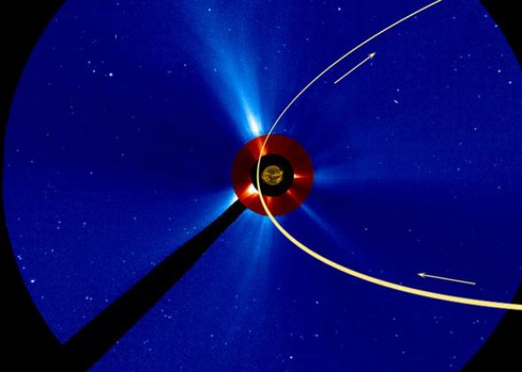 ISON orbit by the Sun