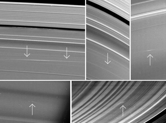 Saturn's Rings Get Smacked By Meteoroids and Cassini Has the Photos