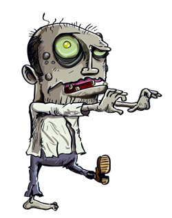 zombie of climate change denial