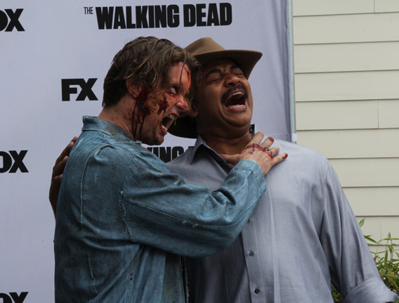Neil Tyson and a zombie.