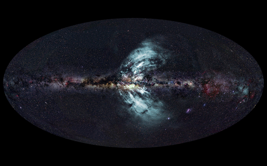 The Milky Way's fountains of gas