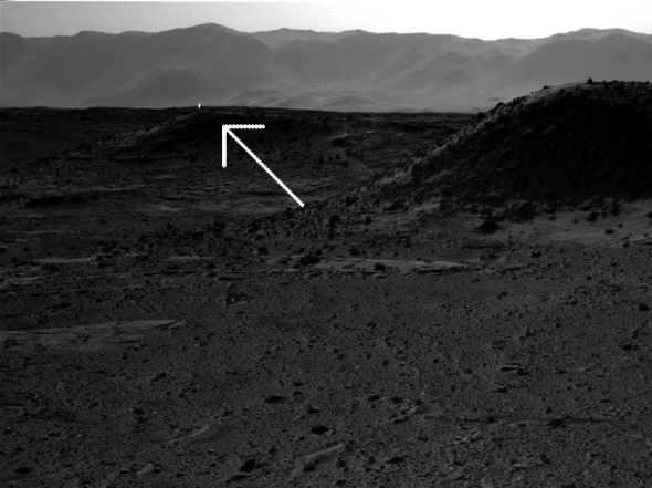 Did Mars Curiosity See an Alien Light on Mars? Duh. No.