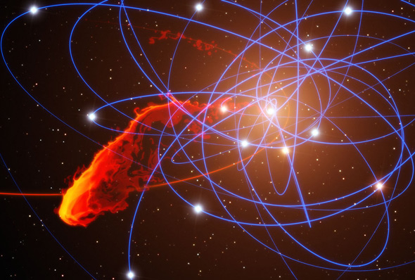Black hole anomaly: Weird object at the heart of a weird ...