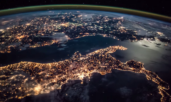 ISS Videos Time Lapse Animations Of Earth From Space