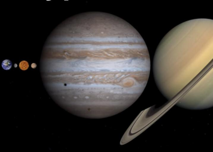 Scale of space: Can you fit all the planets between the Earth and Moon?