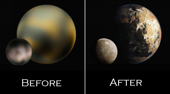 new horizons pluto pictures