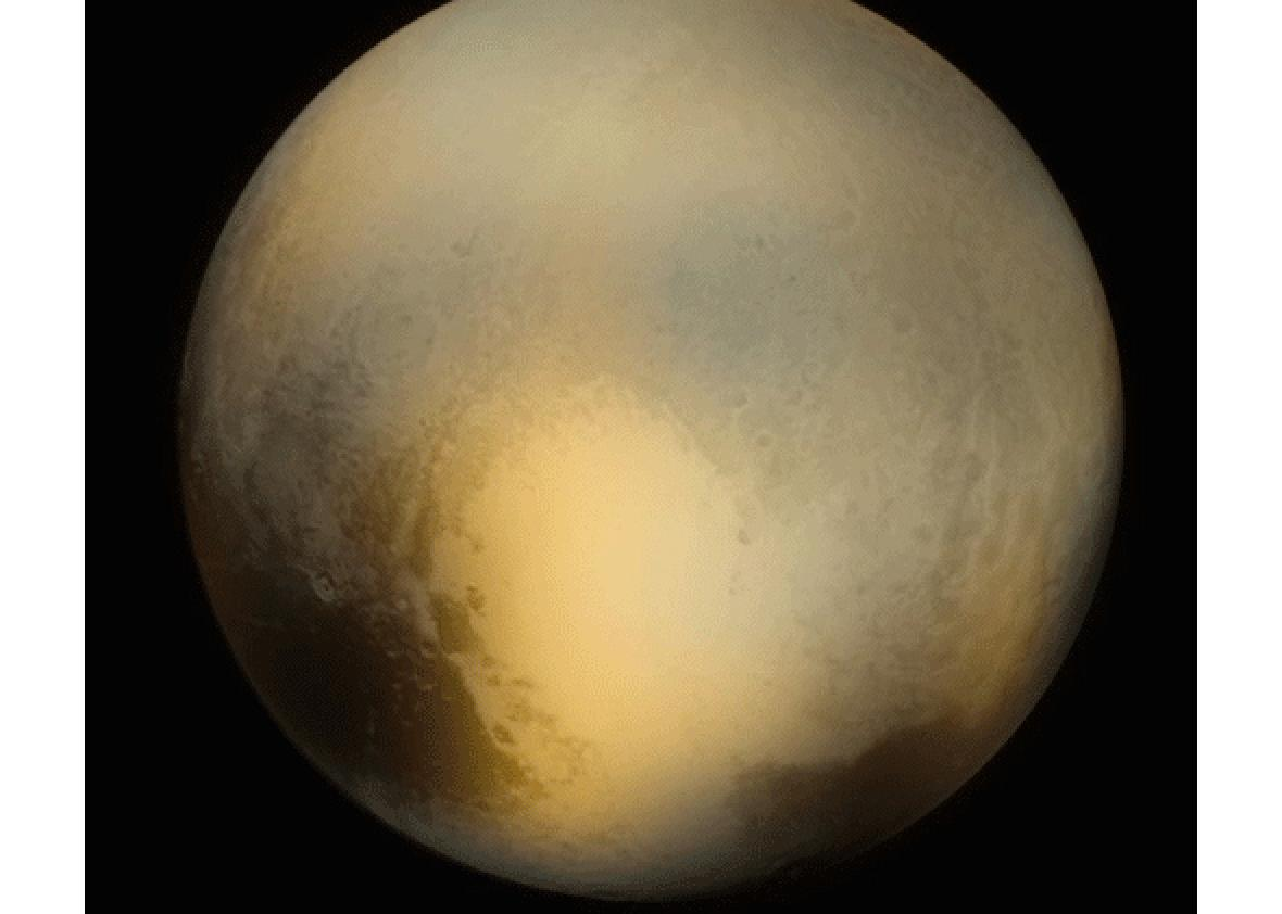 pluto  from hubble to new horizons