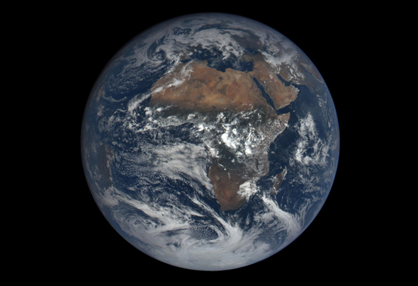 Earth from DSCOVR