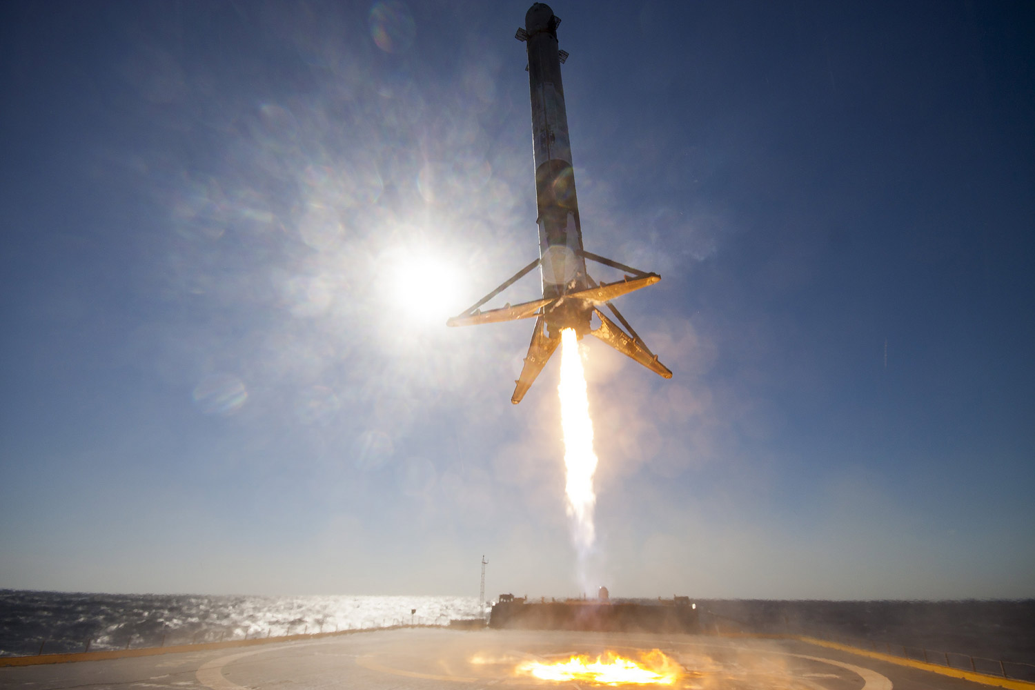 falcon 9 booster - photo #2