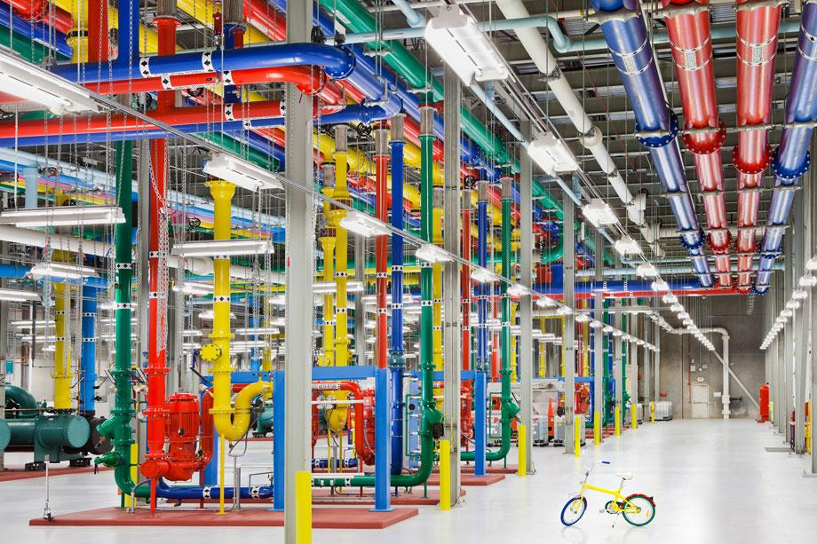 A glimpse inside Google's data centers.
