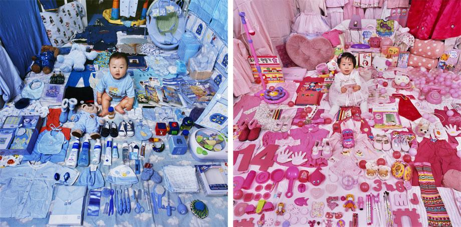 "JeongMee Yoon: ""The Pink and Blue Project"" examines the gender ..."