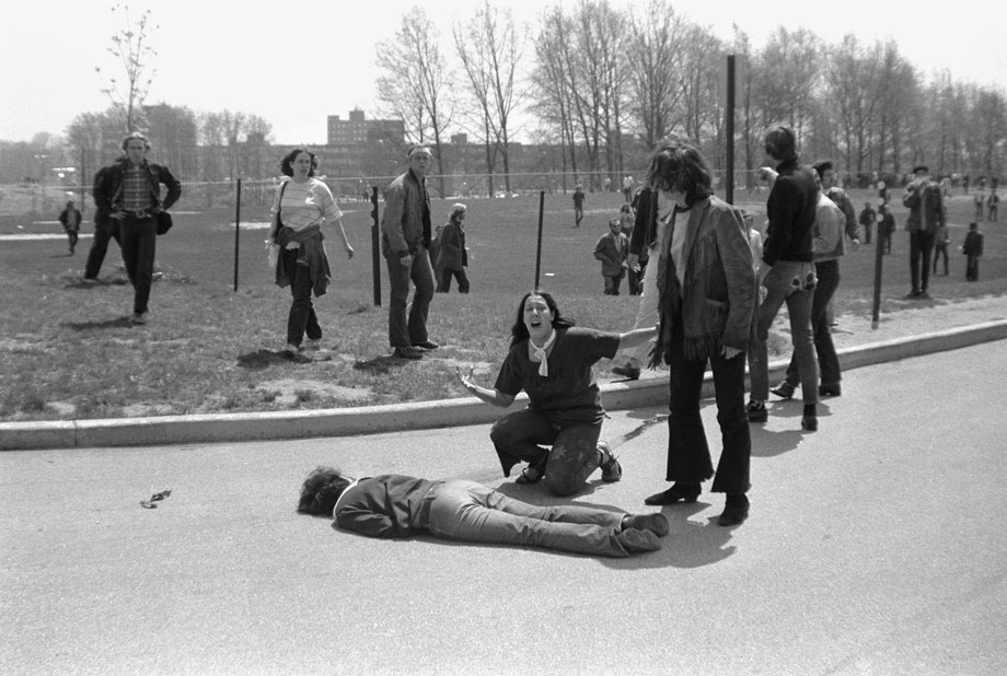 Image result for kent state shooting 1970 photo