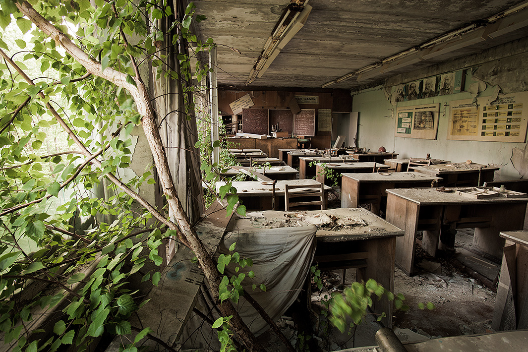 Gerd ludwig documents the chernobyl nuclear disaster s for Nature home photos