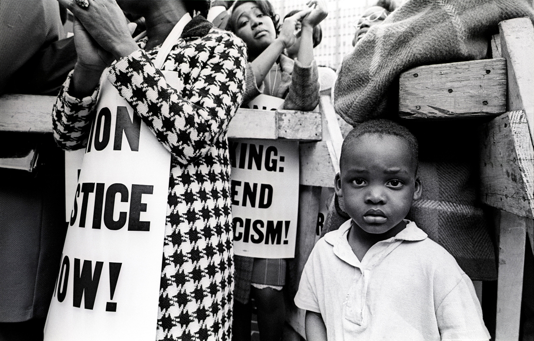 Solidarity march honoringDr. Martin Luther King,Jr. after hisassassination. Memphis,Tennessee, April 6, 1968.
