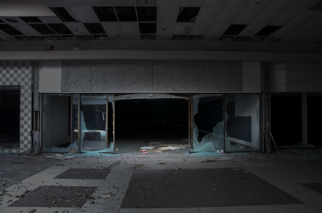 Seph Lawless Photographs Abandoned Malls In His Book Black Friday - 30 haunting images abandoned shopping malls