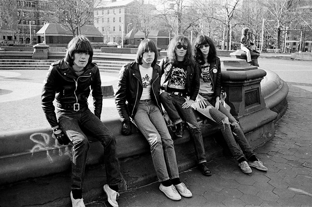 Danny Fields' My Ramones is a new book of photographs ...