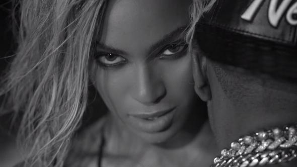 "Beyoncé and Jay Z in ""Drunk in Love"""