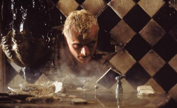 Rutger Hauer is Roy Batty in Blade Runner