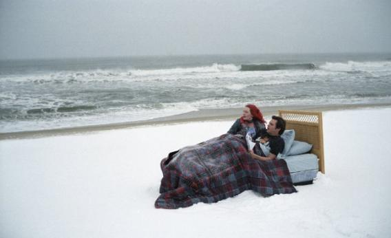 Jim Carrey and Kate Winslet in Eternal Sunshine of the Spotless Mind
