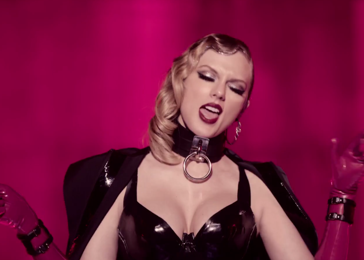 Taylor Swift shows off feisty side in punchy new music video