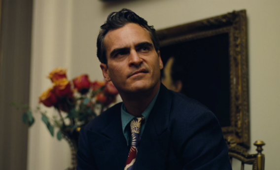Joaquin Phoenix in The Master