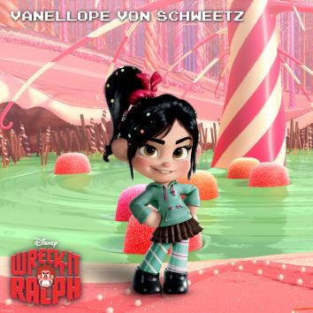 "Vanellope Von Schweetz aka ""the glitch"" from Wreck-It Ralph"