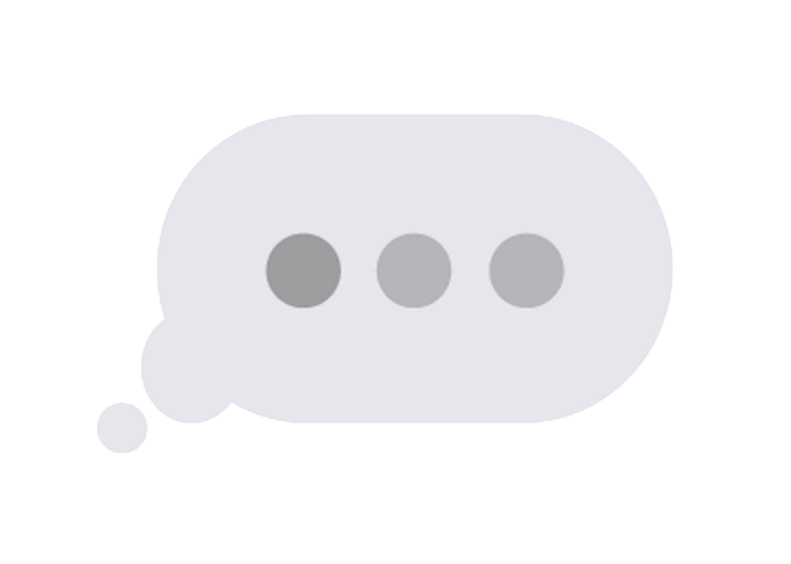 Typing Indicator Bubbles On Iphone Gchat Facebook Messenger When
