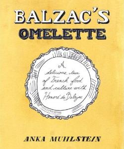 Jacket art for Balzac's Omelette