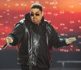 Heavy D in October 2011.