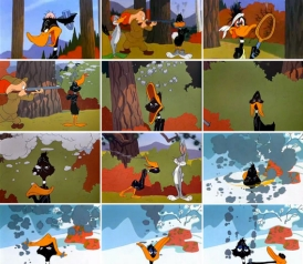 Daffy Duck Being Shot Related Keywords Suggestions Daffy Duck