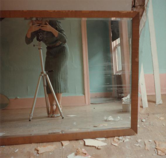 Francesca Woodman Color