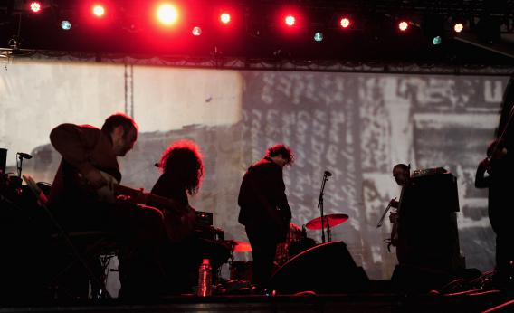 Godspeed You! Black Emperor performs at Coachella