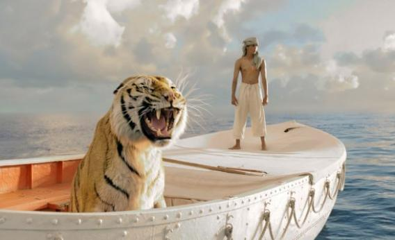 Suraj Sharma as Pi Patel in Life of Pi