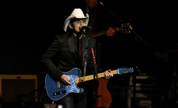 Brad Paisley at the inaugural ball