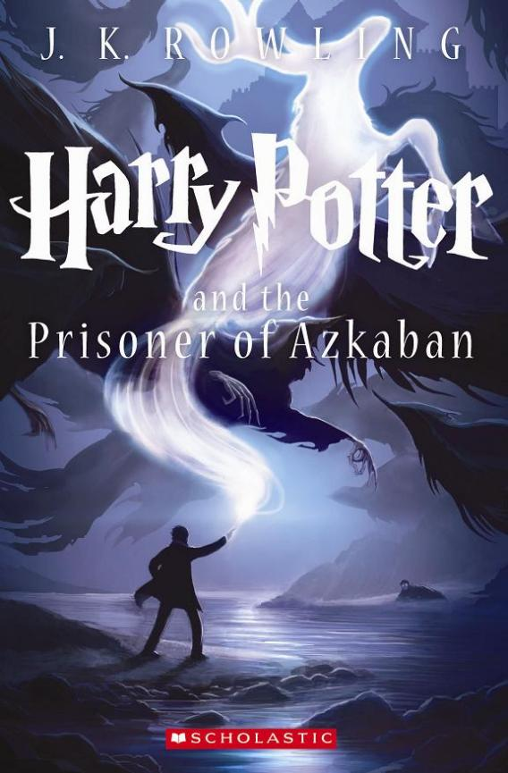 Harry Potter Book Covers : Harry potter new cover prisoner of azkaban gets