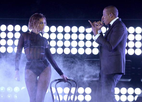 Beyonce Grammys 2014 performance with Jay Z