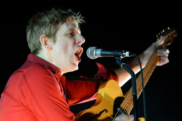 Singer-songwriter Britt Daniel of Spoon, one of America's best rock bands