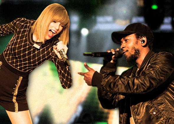 Kendrick Lamar And Taylor Swift A Love Story From Kendrick Singing And Freestyling Over Shake It Off To Taylor Rapping Backseat Freestyle Video