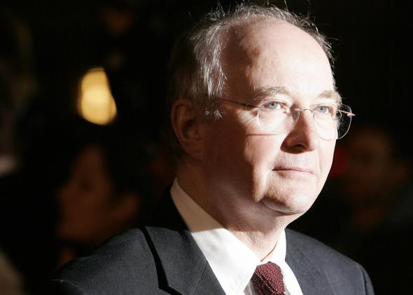 Philip Pullman at premiere of the Golden Compass movie.