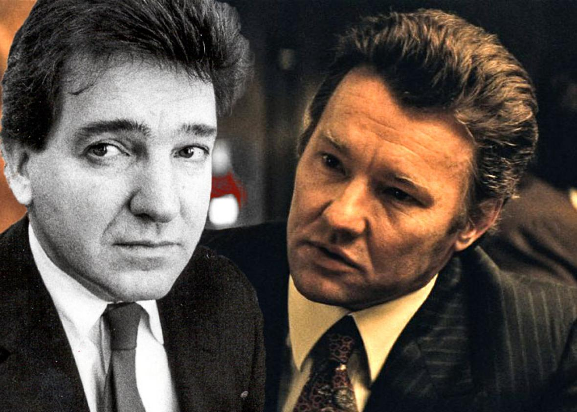 Boston FBI office, agent John Connolly, left, in March 10, 1987,,Boston FBI office, agent John Connolly, left, in March 10, 1987, and Joel Edgerton in Black Mass.