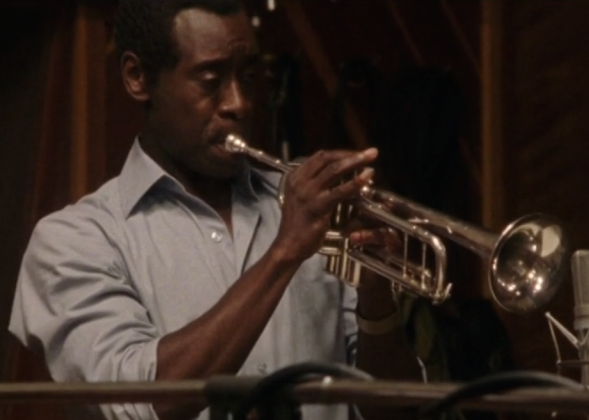 ... trumpet as Miles Davis in the first clip from Miles Ahead (VIDEO