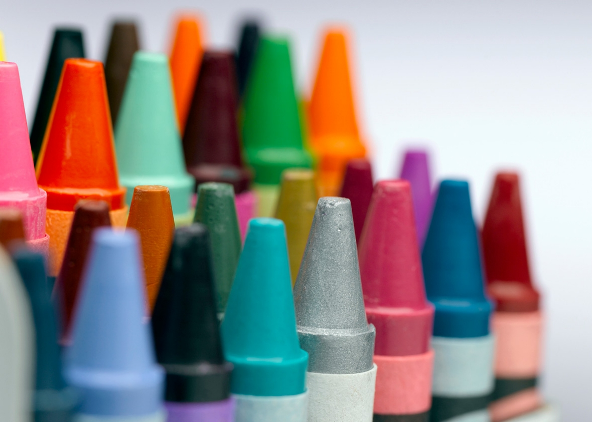 identifying crayola crayon color names can be close to impossible