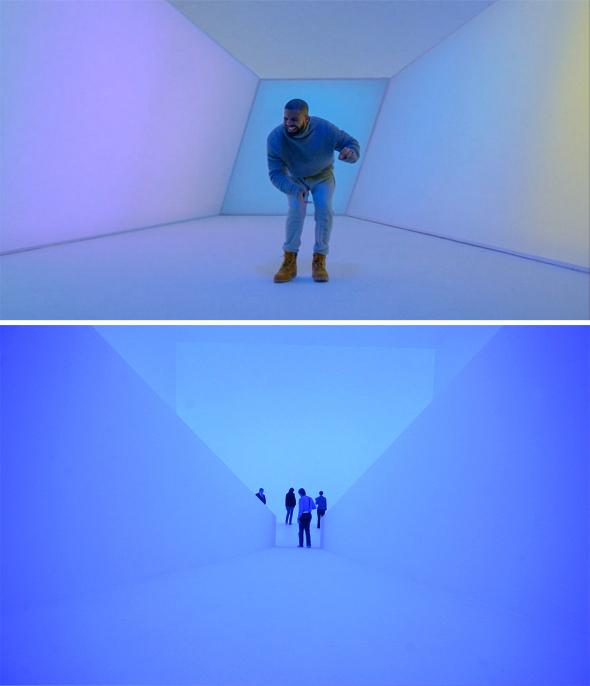 Drake's Hotline Bling and James Turrell.