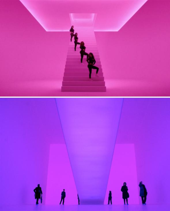 Drake's Hotline Bling and James Turrell.,Drake's Hotline Bling and James Turrell.