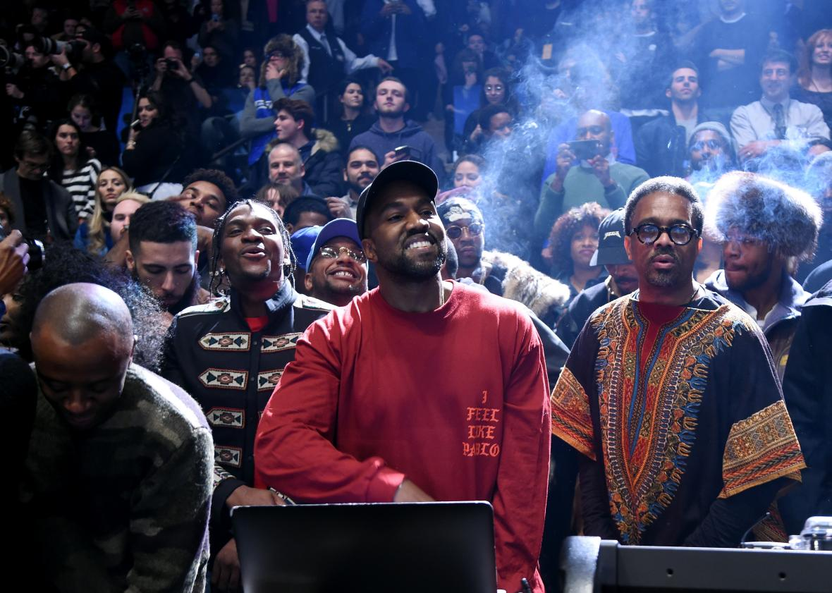 Superior Kanye West Debuts The Life Of Pablo At Madison Square Garden. Awesome Design